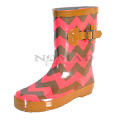 View detail information about 'Ms Puddles II - Brown/Coral Chevron' - Kids