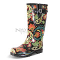 View detail information about 'Puddles - Black Paisley' - Boots