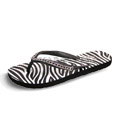 View detail information about 'Spark - Black Zebra' - Sandals