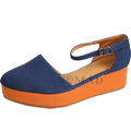 View detail information about 'Sunset - Blue/Orange' - Heels & Wedges