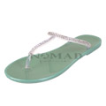 View detail information about 'Truffle - Green/Silver (Display Pair)' - Sandals