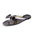 View detail information about 'Pixie - Black/Silver' - Sandals