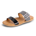 View detail information about 'Capri - Black/Grey' - Sandals
